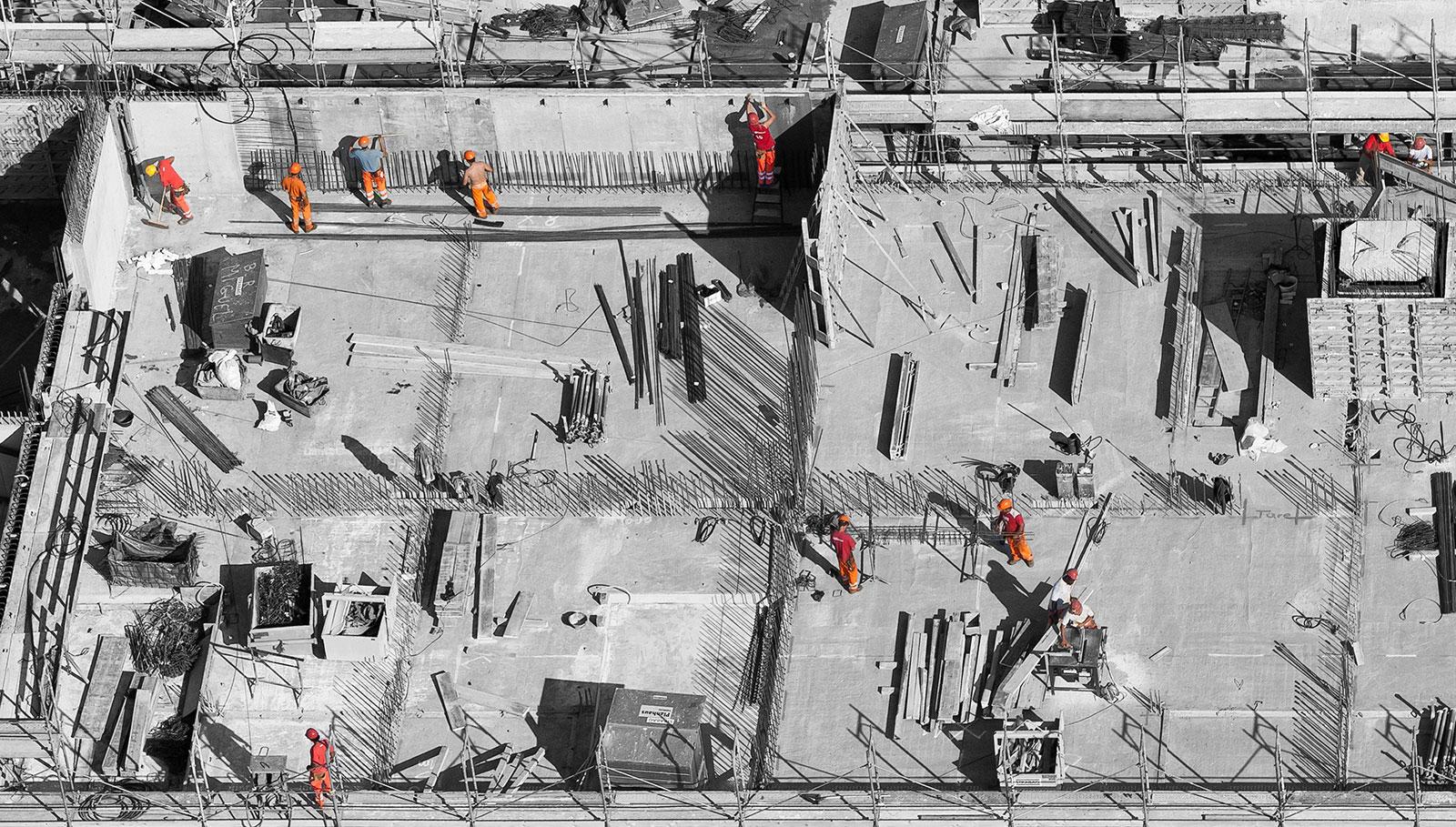 construction de bâtiments avants projets 2MA Structure