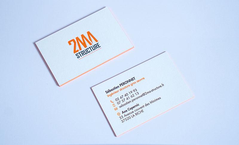 nouvelles cartes de visite 2MA Structure