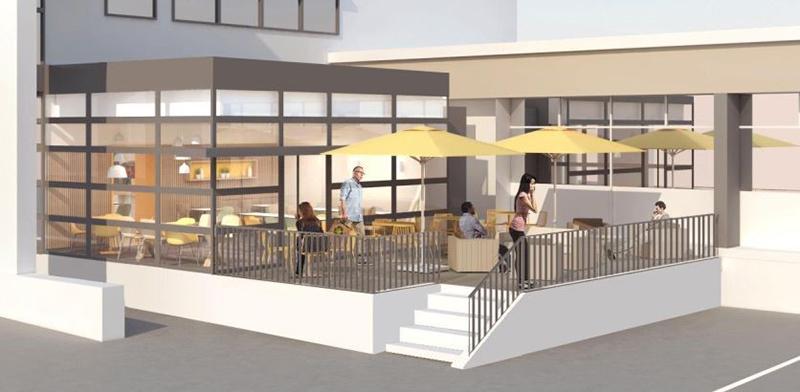 Réalisation par 2MA Structure de l'avant projet de la construction de la cafétèria du centre hospitalier de Montreuil