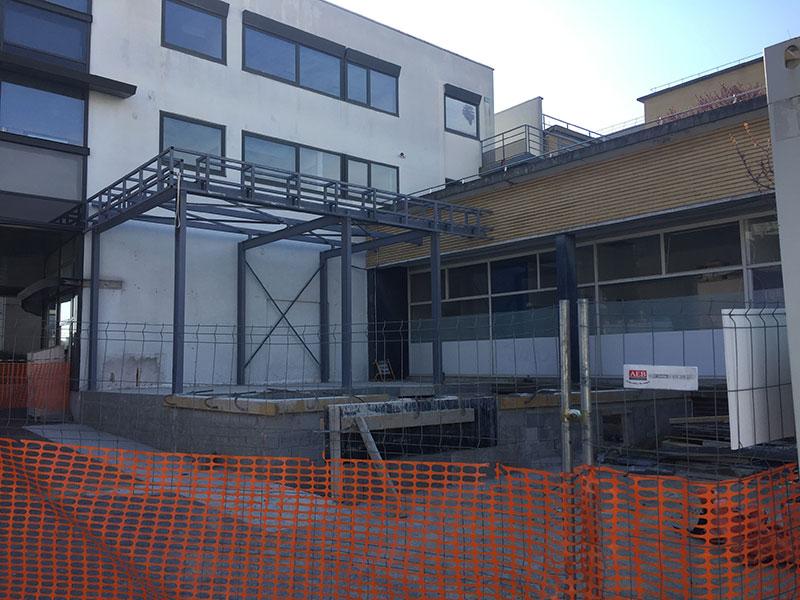 Création de la cafétéria de l'hôpital de Montreuil (93) par le cabinet 2MA Structure