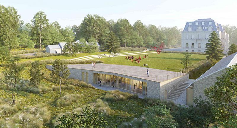 avant-projet de réalisation d'un centre de formation by 2MA Structure