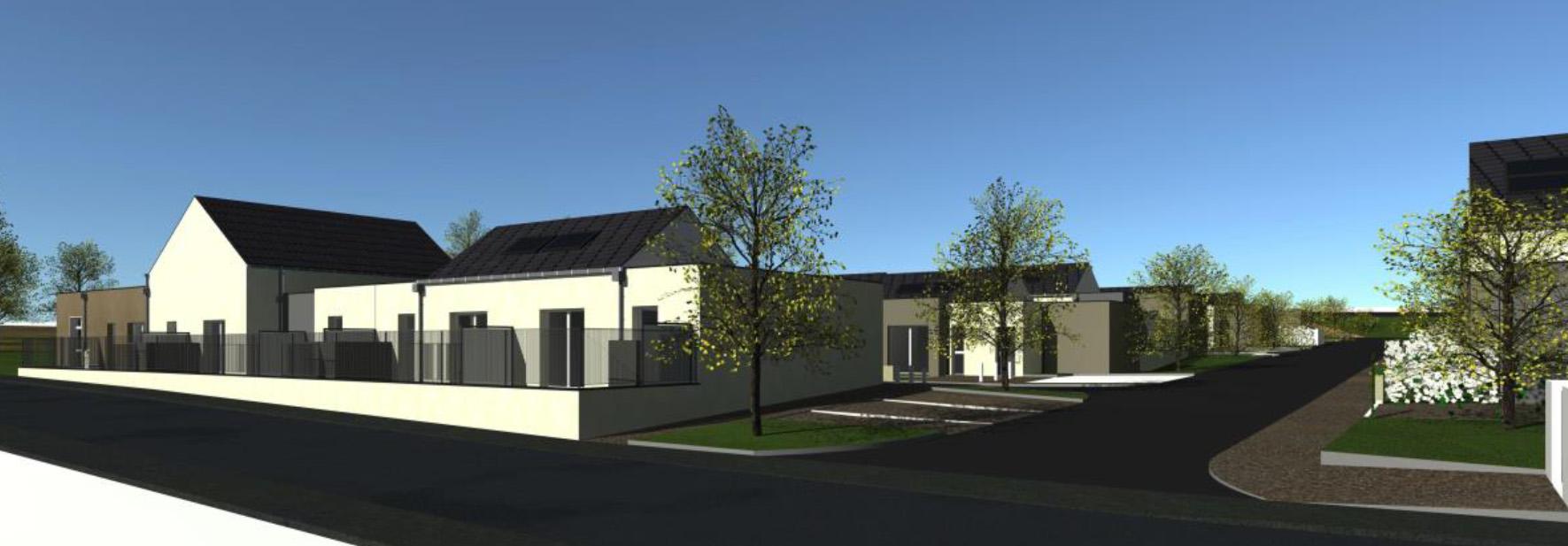 projet de construction de village intergénrationnel by 2MA Structure