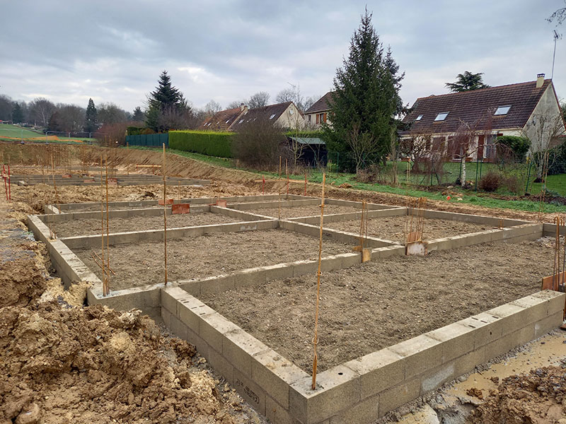 construction d'un village intergénérationnel by 2MA Structure